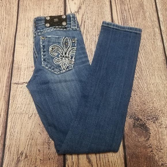 5e0f18973 Miss Me Bottoms | Girls Skinny Jeans Size 8 Distressed | Poshmark